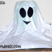 Crafts for Kids: Soda Bottle Ghost Halloween Crafts
