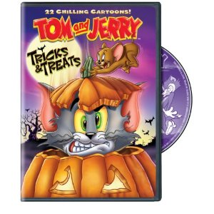 Tom and Jerry Trick and Treats DVD