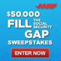 Enter to Win the AARP Fill the Gap Sweepstakes *Ends 11/30*