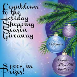 Group Giveaway: Countdown to the Holidays—Win Coach, Xbox, Kindle! *Ends 11/24*