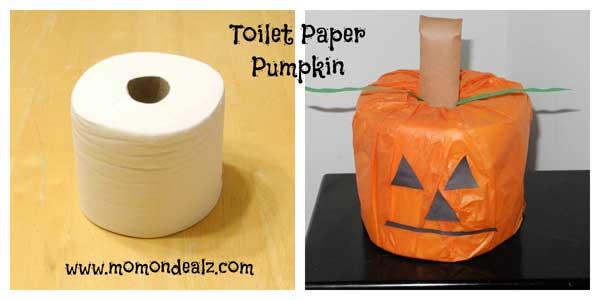 toilet-paper-pumpkin-kids-craft
