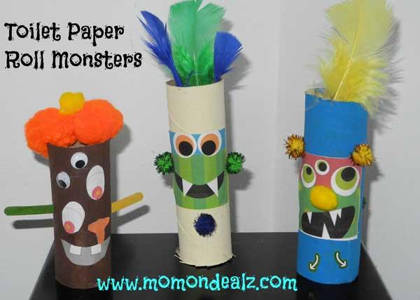 Toilet Paper Roll Halloween Crafts Online Store Deals