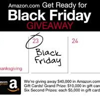 Enter to Win the Amazon Get Ready for Black Friday Giveaway (Facebook) *Ends 11/11*
