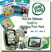 Group Giveaway: Ultimate LeapFrog Holiday Prize Pack *Ends 12/3*