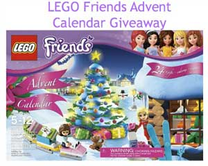 Giveaway: LEGO Friends Advent Calendar *Ends 11/25*
