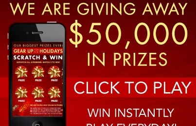 Enter to Win the Citi Trends Gear Up For The Holidays Instant Win Game *Ends 11/30*