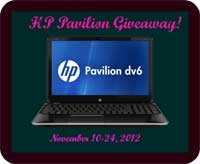 Group Giveaway: HP Pavilion dv6t-7000 Notebook PC *Ends 11/24*