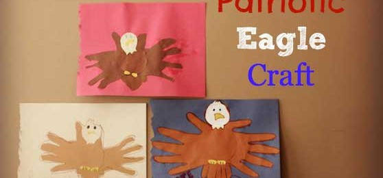Crafts for Kids: Patriotic Eagle Craft for Veterans Day