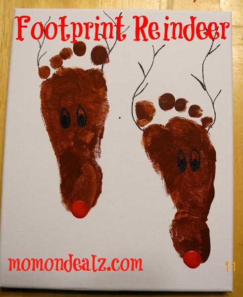 Christmas-Crafts-for-Kids-Footprint-Reindeer