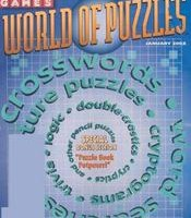 Games World of Puzzles Magazine Subscription for only $9.98/year