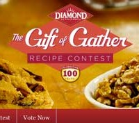 Enter the Diamond Nuts Gift of Gather Recipe Contest *Ends 12/21*
