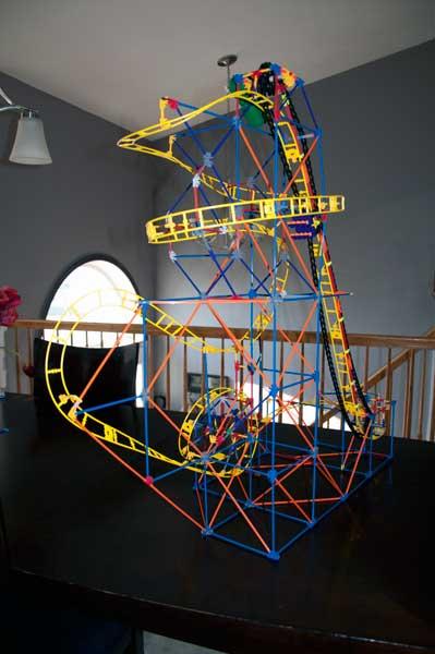 Giveaway: K'NEX Firestorm Freefall Coaster Building Set *Ends 12/8*