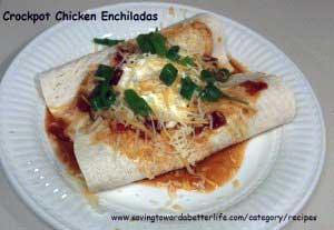 Slow Cooker Recipe: Crock-Pot Chicken Enchiladas
