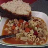 Slow Cooker Recipe: Fagioli Soup with Pasta