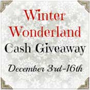 Group Giveaway: $500 Winter Wonderland Cash *Ends 12/16*