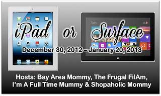 Group Giveaway: Apple iPad, Microsoft Surface, or Cash – Your Choice! *Ends 1/20*