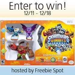 *Closed* Blogger Event: Skylanders Giants Starter Pack for Nintendo Wii