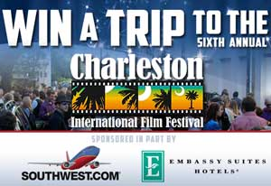 Enter to Win a Trip to the Charleston International Film Festival *Ends 3/1*