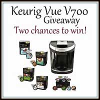 Group Giveaway: Keurig Vue V700 *Ends 2/11*