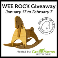 Group Giveaway: Wee Rock Heirloom Quality Rocker *Ends 2/7*