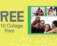 8X10 Collage Print from Walgreens 100% FREE!