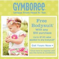 FREE Infant Body Suit from Gymboree (in store or online)