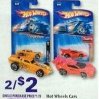 Rite Aid: $.80 Hot Wheels starting 3/17