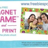 Saturday: Free Magnet Frame and 4×6 Print at Walgreens