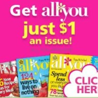 All You Magazine just $1 Per Issue