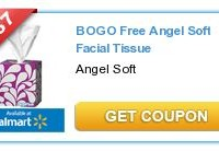 BOGO Angel Soft Tissues Printable Coupon | $.59 per box at Walmart