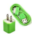 iPhone Charging Accessories in Bright GREEN starting at $.88 SHIPPED!
