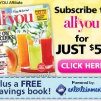 All You Magazine Subscription + Entertainment Coupon Book just $5!
