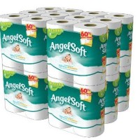 Angel Soft Bath Tissue $.40 per double roll SHIPPED