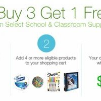 Amazon: Buy 3 Items Get 1 Free | School Supplies, Bath Tissue & More