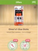 FREE Elmers Glue Sticks at Walmart