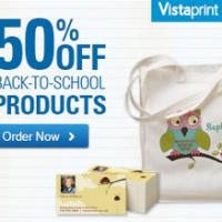 Vistaprint 50% off Sale | Tote Bags, Business Cards, TShirts and More