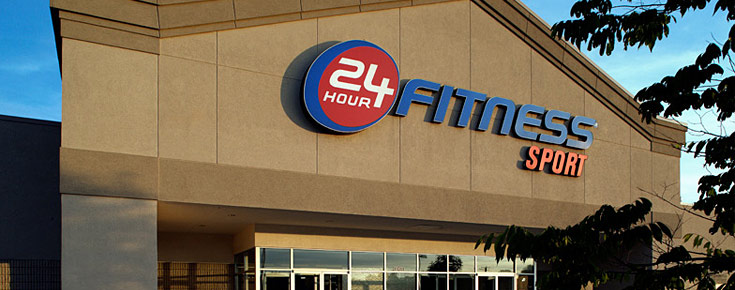 24 Hour Fitness: 1st Month Free + Free Initiation