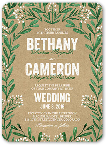 shutterfly: 5 free wedding invitations (5x7) - free samples,