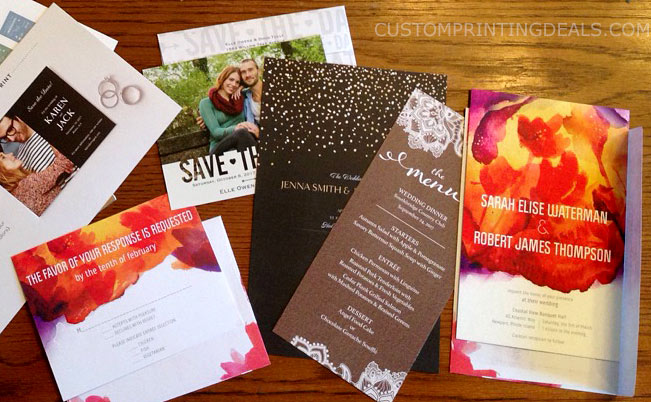 Free samples from vistaprint for business or wedding new vistaprintwedding free sample invites stopboris Choice Image