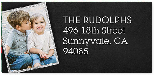 shutterfly photo address labels free