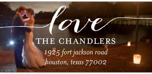 shutterfly wedding address labels