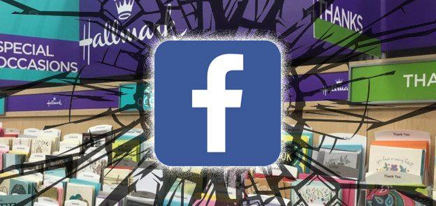 Facebook Starts Greeting Card Service (Sends Hallmark SAD Emoji?)