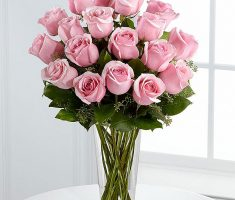 pink roses meaning send