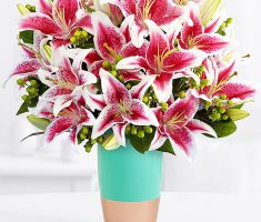 send lilies meaning