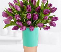 send tulips moms day meaning
