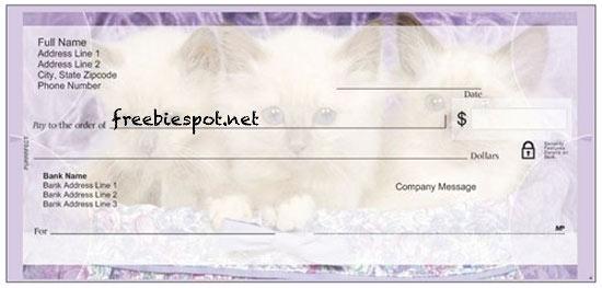 vistaprint cat checks