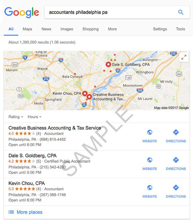 google my business seo free