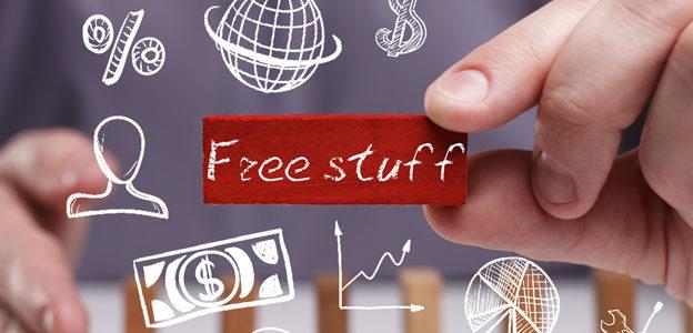 free stuff men