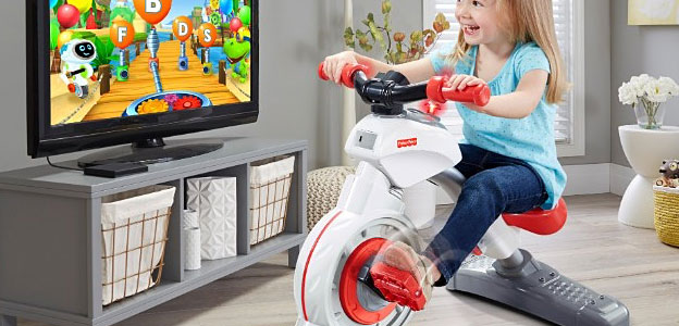 gadget fisher price smart cycle