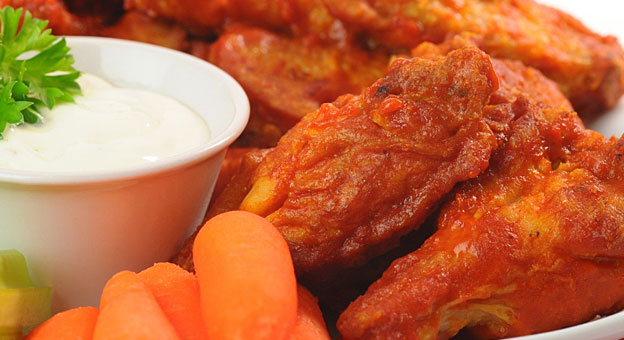 superbowl chicken wings